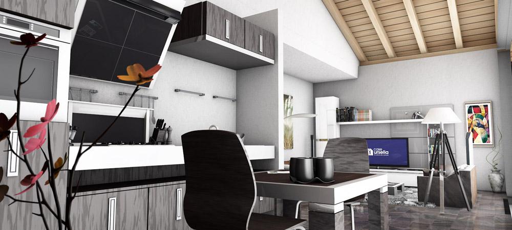 E100 tv case ursella for Case modulari con suite di legge